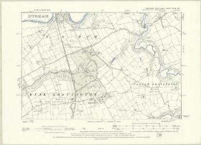 Yorkshire XXVII.NW - OS Six-Inch Map