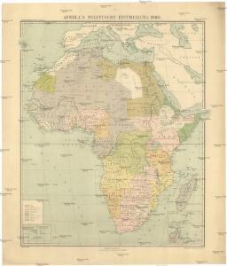 Afrika's Politische Eintheilung 1900