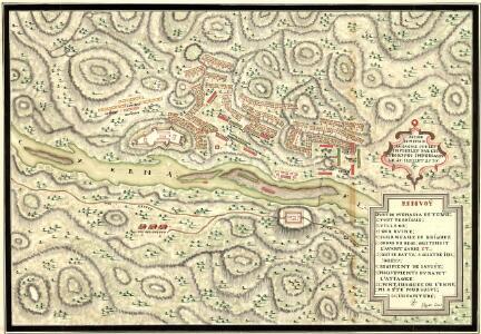 Action de Mehadia Gagne Svr les Infideles par les Trouppes Imperiales le 15. Iuillet 1738