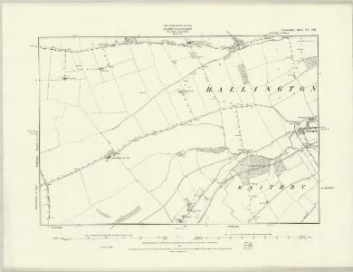Lincolnshire XLIX.SE & XLIXA.SW - OS Six-Inch Map