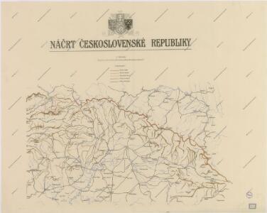 Náčrt Československé republiky