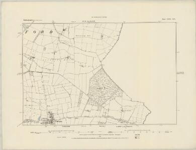 Nottinghamshire XXX.NE - OS Six-Inch Map