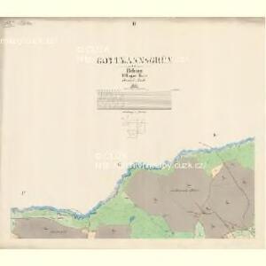Gottmannsgrün - c7985-2-002 - Kaiserpflichtexemplar der Landkarten des stabilen Katasters