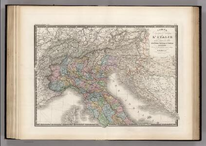Italie partie Nord.