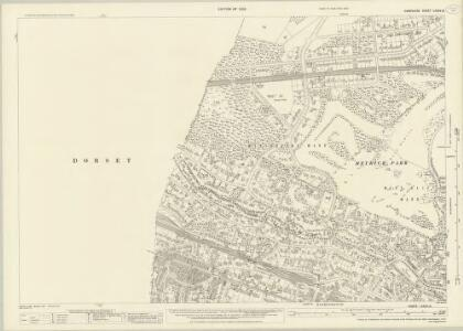 Hampshire and Isle of Wight LXXXV.12 (includes: Bournemouth; Poole) - 25 Inch Map