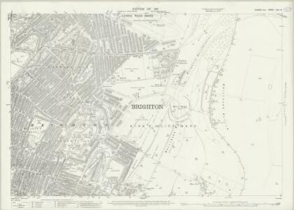 Sussex LXVI.10 (includes: Brighton) - 25 Inch Map
