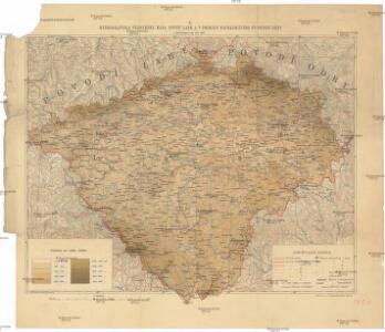 Hydrograficka Prehledna Mapa Povodi Labe A V Cechach Nachazejiciho