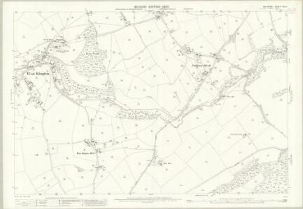Wiltshire XIX.6 (includes: Castle Combe; Nettleton; North Wraxall) - 25 Inch Map