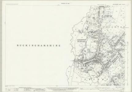 Bedfordshire XXVIII.10 (includes: Leighton Buzzard; Linslade) - 25 Inch Map