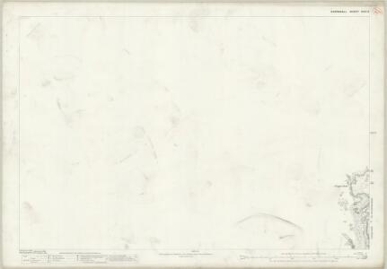 Cornwall XLVII.8 (includes: Perranzabuloe; St Agnes) - 25 Inch Map