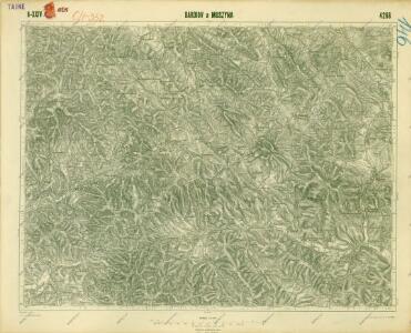 III. vojenské mapování 4266