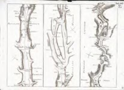 Carte topographique de la grande route de Berne à Genève, Blatt 7-9