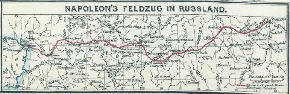 Napoleon's Feldzug in Russland