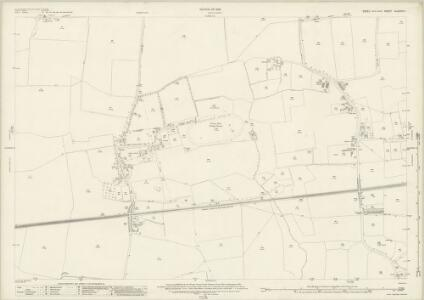 Essex (New Series 1913-) n LXXXVII.1 (includes: Barking; Dagenham) - 25 Inch Map