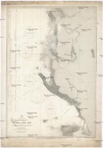Adriatisches Meer, Küsten-Karte