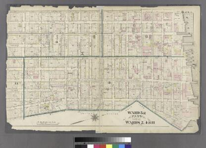 Plate 1: Ward 5 & Part of Wards 2, 4 & 11.