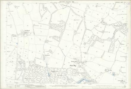 Hampshire and Isle of Wight LXVII.7 (includes: Denmead; Hambledon; Soberton) - 25 Inch Map