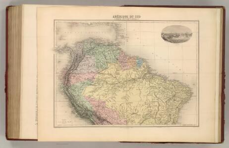 Amerique du Sud (Partie Septentrionale).