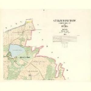Strzebischow (Strzebissow) - c8030-1-002 - Kaiserpflichtexemplar der Landkarten des stabilen Katasters