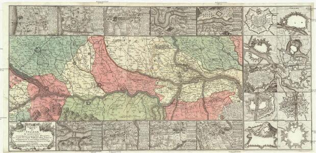 Theatrum belli per Italiam a. 1734