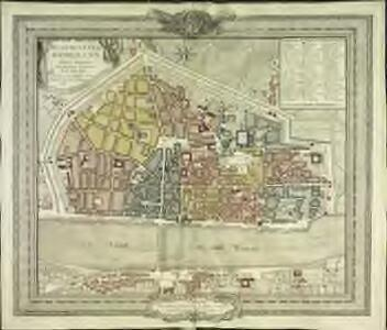 Plan de la ville d'Orleans