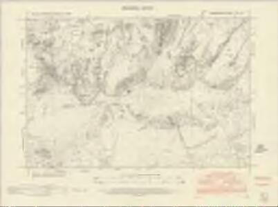 Caernarvonshire XVII.SE - OS Six-Inch Map