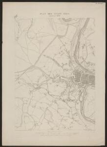 Plan der Stadt Bern