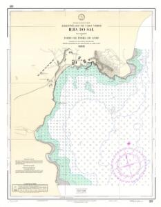 Arquipélago de Cabo Verde ilha do Sal Porto de Pedra Lume