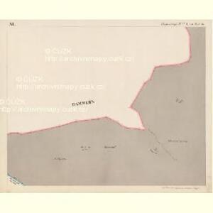 Eisenstrass - c1950-1-011 - Kaiserpflichtexemplar der Landkarten des stabilen Katasters