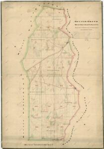 Lesní hospodářská mapa revíru Milíře