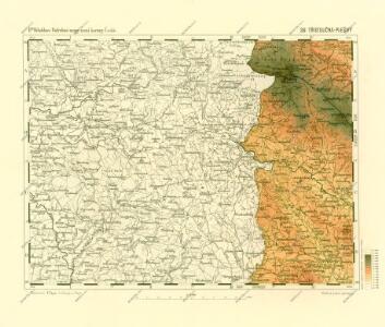 Podrobné mapy zemí Koruny české v měřítku 1:75.000 a mapa vzdáleností všech míst při silnici ležících - Třístoličná - Plešný. Průvodce statisticko-historický po všech místech na těchto mapách uvedených a rejstřík věcný názvů hor, potoků, řek, rybníků atd. Sešit 39. List 36,