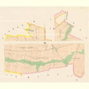 Chwaletitz (Chwaletice) - c2688-1-004 - Kaiserpflichtexemplar der Landkarten des stabilen Katasters
