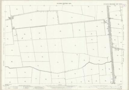 Lincolnshire CXXXIII.6 (includes: Dunsby; Hacconby; Pinchbeck) - 25 Inch Map