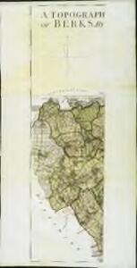 A topographical map, of the county, of Berks, Blatt XII und XVIII