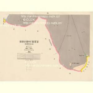 Hrobschitz (Robssicz) - c6486-1-007 - Kaiserpflichtexemplar der Landkarten des stabilen Katasters