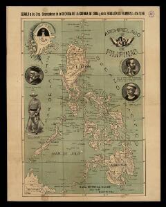 Archipiélago de Filipinas: regalo a los Sres. suscriptores de la Crónica de la guerra de Cuba y de la rebelión de las Filipinas, Año 1896 / Passo