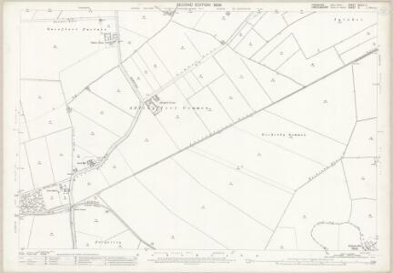 Yorkshire CCLIII.11 (includes: Adlingfleet; Fockerby; Haldenby; Luddington; Ousefleet; Whitgift) - 25 Inch Map
