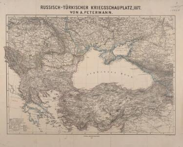 Russisch-türkischer Kriegsschauplatz, 1877