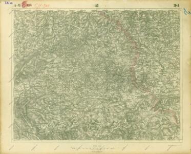 III. vojenské mapování 3948