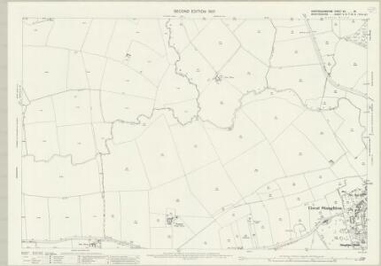 Huntingdonshire XX.16 (includes: Great Staughton; Kimbolton; Little Staughton; Pertenhall) - 25 Inch Map