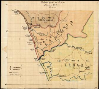 Arbeitsgebiet der Basler Missions Station Calicut