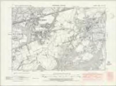 Surrey XII.SW - OS Six-Inch Map