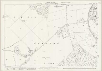 Cheshire XL.2 (includes: Cuddington; Marton; Oakmere) - 25 Inch Map