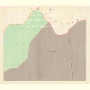 Glasdörf (Sklena Wes) - m2733-1-002 - Kaiserpflichtexemplar der Landkarten des stabilen Katasters