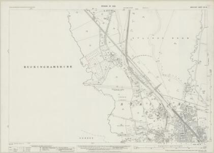 Middlesex XIX.14 (includes: Egham; Staines; Wyrardisbury) - 25 Inch Map