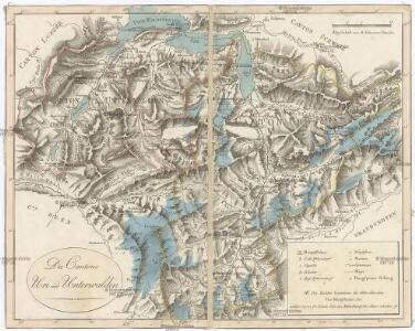 Die Canton Uri und Unterwalden