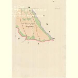 Lipnitz (Lipniz) - m1566-1-004 - Kaiserpflichtexemplar der Landkarten des stabilen Katasters