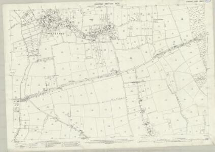 Somerset LXXIII.1 (includes: High Ham; Huish Episcopi; Long Sutton; Pitney; Somerton) - 25 Inch Map