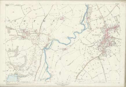 Somerset XXX.7 (includes: Beckington; Berkley; Lullington) - 25 Inch Map