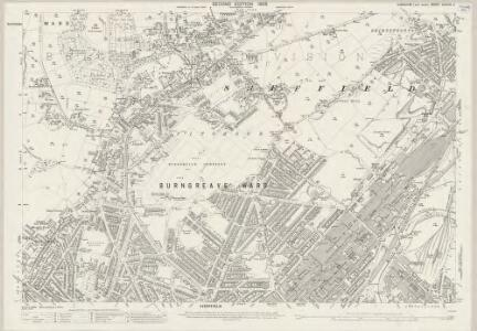 Yorkshire CCXCIV.4 (includes: Sheffield) - 25 Inch Map